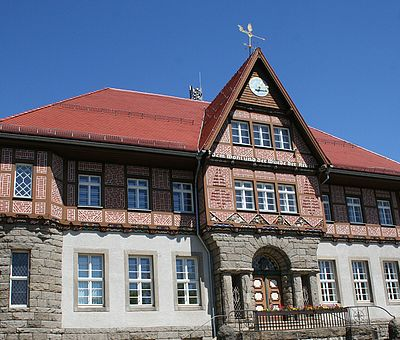 Rathaus in Schierke