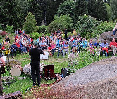 Musikband im Kurpark Schierke