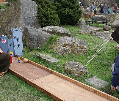 Kinderspiel zur Walpurgis in Schierke