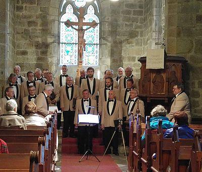 Chorauftritt in der Bergkirche Schierke