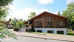 Strassenansicht der Tourist-Info in Schierke
