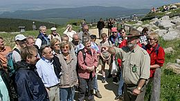 Gruppe mit einem Nationalparkranger